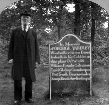 """""""wood collier's grave"""