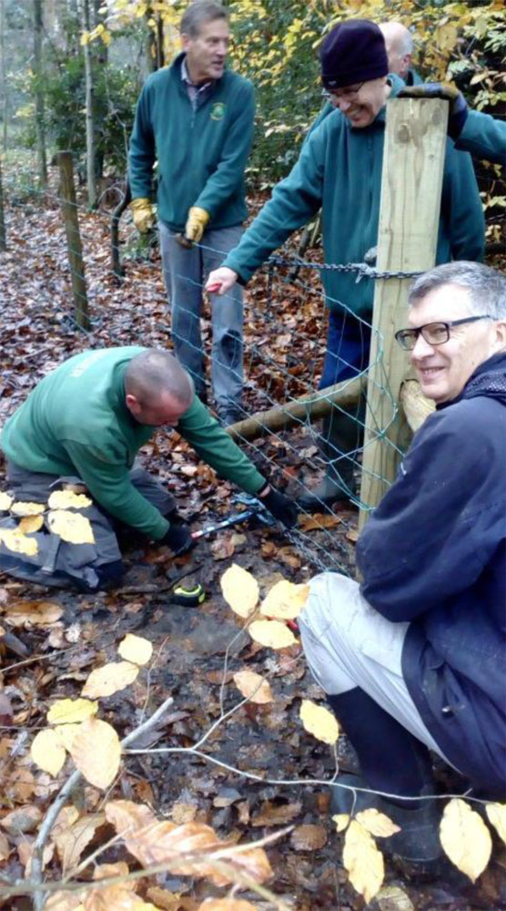 """Friends of Ecclesall Woods volunteers"