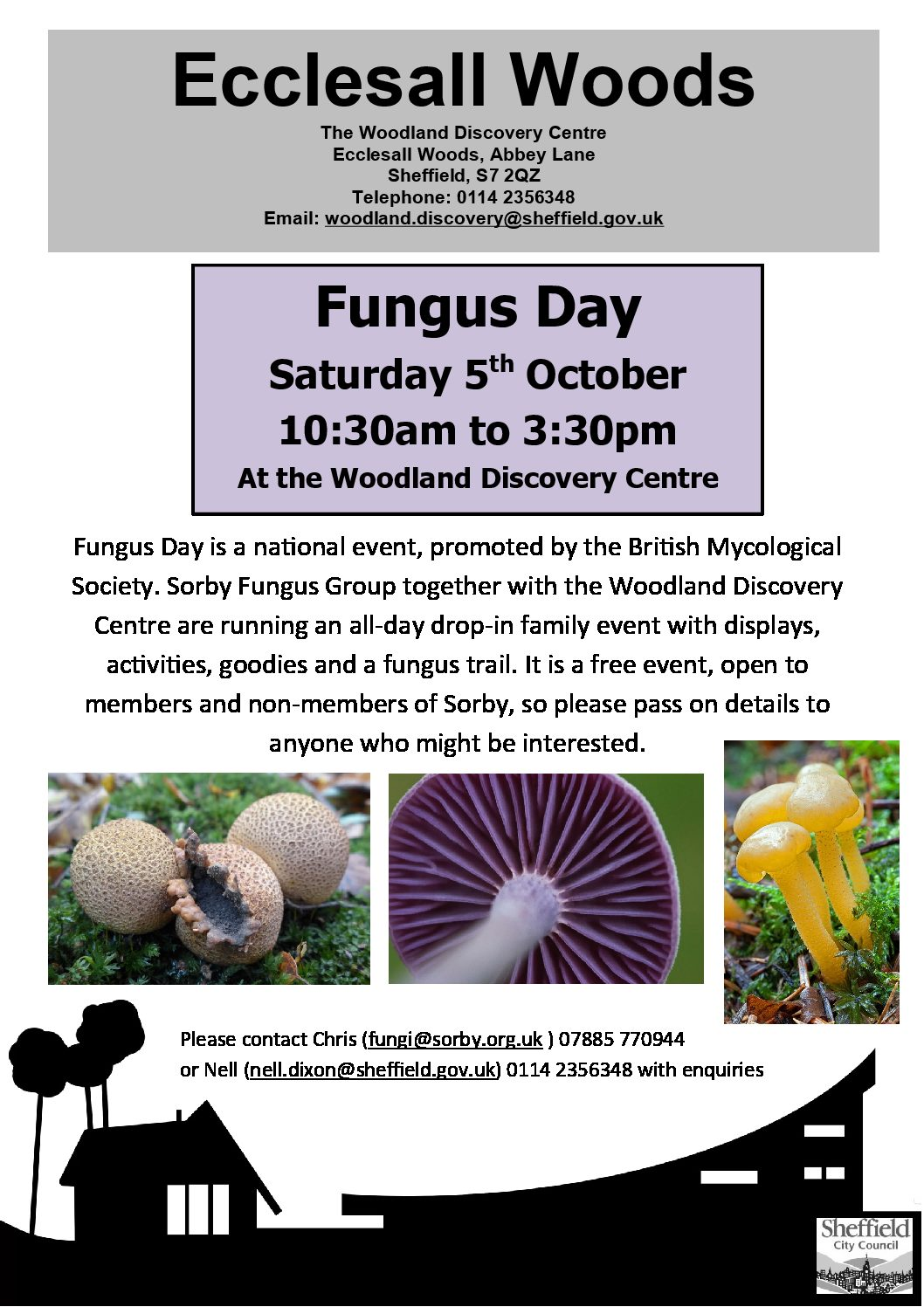 Fungus day  Poster