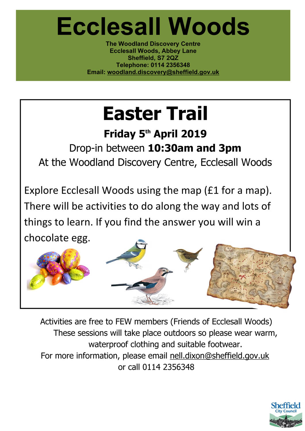Easter 2019 Trail at Ecclesall Woods